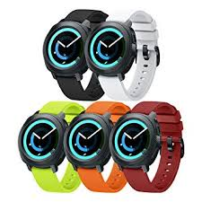 ANCOOL Compatible Gear Sport Band <b>Replacement 20mm Silicone</b>