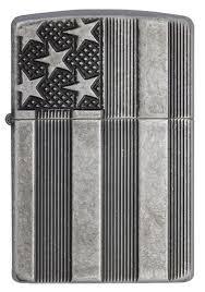 <b>Зажигалка Zippo Armor™</b> с покрытием Antique Silver Plate ...