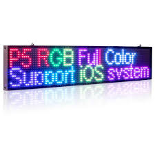 Detail Feedback Questions about New <b>82cm</b> P5 RGB Sign Full color ...