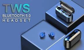 Wireless <b>Earphone Bluetooth</b> 5.0 LED Display <b>F9 TWS</b> Wireless ...