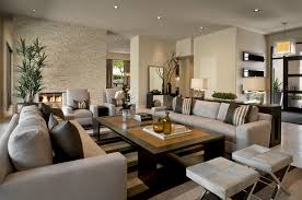 interior decoration in modern living big living room couches