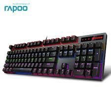 Rapoo V500PRO 104key Mechanical Keyboard USB Wired ... - Qoo10