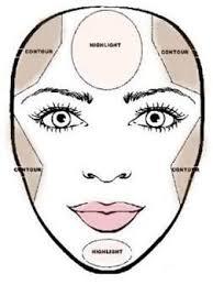 makeup for heart shape face