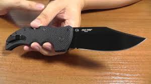 Cold Steel Recon 1. Отличный <b>нож</b>, если знать зачем. - YouTube