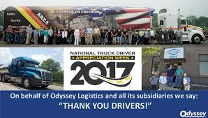 National Truck Driver Appreciation Week 2017 - Odyssey Logistics ...