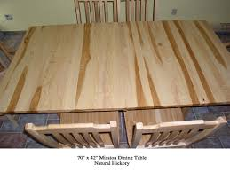 Hickory Dining Room Table Farm Style Dining Room Table Hickory Dining Room Table Natural