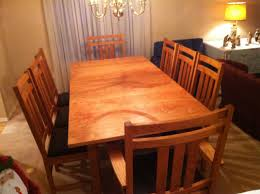 craftsman dining room table
