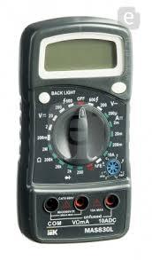 <b>Мультиметр IEK Master</b> MAS830L <b>цифровой</b> — купить по ...