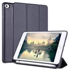 Magnetic Leather <b>Case Cover</b> with <b>Double</b>-<b>sided</b> Clip with Ultra-thin ...