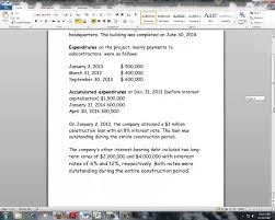 interest capitalization example interest capitalization example