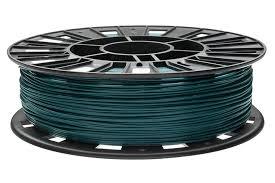 <b>PLA пластик</b> REC 1.75 мм <b>тёмно</b>-<b>зелёный</b>