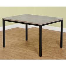 wood extendable dining table walnut modern tables: simple living seneca contemporary dining table