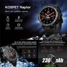 <b>KOSPET</b>-<b>Raptor</b> Smart Watch for Men 1.3 <b>Outdoor</b> Smartwatch with ...