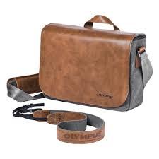 <b>Сумка Olympus Messenger Bag</b> для камер <b>OM</b>-<b>D</b> и PEN <b>OM</b>-<b>D</b> ...
