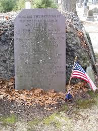 joseph warren warren s grave in forest hills cemetery