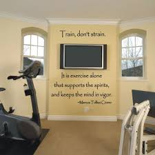 room decor decorating workout one day ill have and exercise room and this would be an awesome