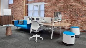 turnstone bivi modern office desk system steelcase bivi modular office furniture
