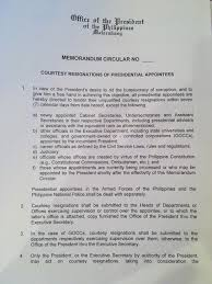 memorandum circular no s official gazette of the pdf memorandum circular no 4 s