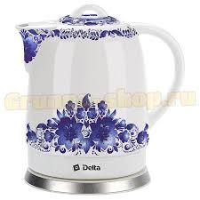 Купить Керамический <b>чайник Delta dl-1233B</b> в Москве