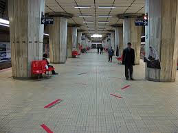 Eroilor metro station