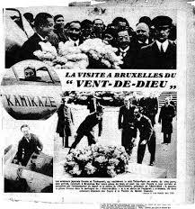 「1937年 - 朝日新聞社の「神風号」がロンドンに到着、」の画像検索結果