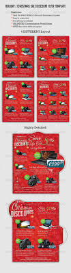 holiday christmas discount flyer template flyer template holiday christmas discount flyer template