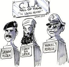 Image result for manuel noriega political cartoon