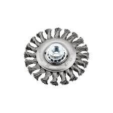 Кордщетка <b>Kwb плоская 115мм</b> для УШМ витая сталь (7197-30 ...
