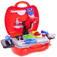 <b>ABtoys</b> Игровой набор <b>Чудо</b>-<b>чемоданчик</b> Набор инструментов 19 ...