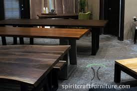 walnut cherry dining: heirloom quality dining and conference tables and desks on hardwood stainless and black steel legs black walnut