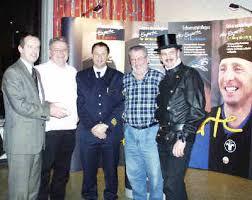 von links: Oliver Wittke, Theo Gehling, Michael Axinger, Hermann Staudinger und Paul Schürmann - rauchmel-gruppe