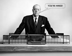 getting to the job offer aia dc ludwig mies van der rohe image adapted by rob holzbach getting to the job offer