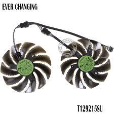 2019 Fans <b>Cooling 88MM</b> T129215SU <b>PLD09210S12HH</b> 12V <b>4Pin</b> ...