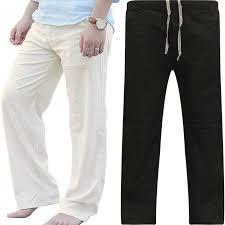 Fashion <b>Men</b> Drawstring <b>Loose Pants</b> Beach Sporting Yoga <b>Casual</b> ...