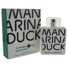 Shop <b>Mandarina Duck Black</b> and <b>White</b> Men's 3.4-ounce Eau de ...