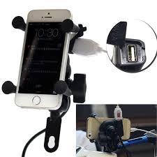 <b>Universal</b> 12V Motorcycle Cell Phone &amp; GPS Mount Holder X ...
