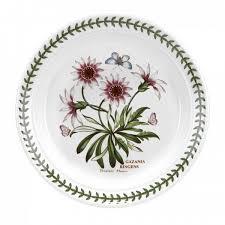 <b>Тарелка закусочная 20</b> см Ботанический сад <b>Газания</b>
