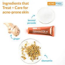 <b>Acne</b> Free <b>Terminator</b> 10 <b>Acne</b> Spot Treatment With Benzoyl ...