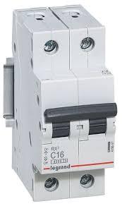 Купить товар Автоматический <b>выключатель Legrand</b> RX3 2P (C ...