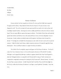 evolution essay anthropology grade  amanda iliadis ms ryan hspm feb th  human evolution human evolution has been argued
