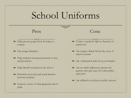 pros and cons of school uniforms essay  wwwgxartorg pros and cons of uniform school uniform pinterest a child pros and cons of uniform school