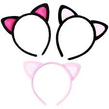 <b>M MISM 1PC</b> New Cat Ears Fluff Hair Bands Cute Headband Hair ...