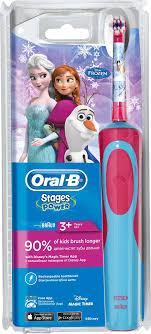 Детская электрическая <b>зубная щетка Oral-B</b> Stages Power Frozen ...