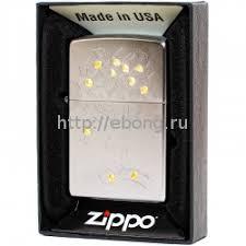 <b>Зажигалка</b> Zippo 29999 <b>Money Tree</b> Design <b>Бензиновая</b>