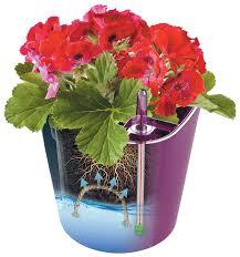 Купить <b>Горшок цветочный с</b> автополивом Акиби КОМФОРТ 5,5л ...