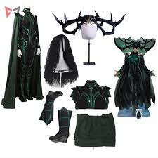 <b>New Thor Ragnarok cosplay</b> Hela Cosplay Costume accessories ...