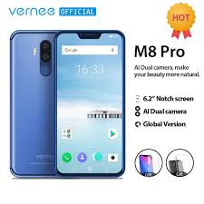 <b>Vernee M8 Pro 6.2</b>''notch Screen Smartphone 6GB 64GB Android ...