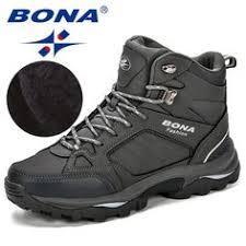 New 2020 Men Boots Anti-Skidding Leather Shoes Men Popular ...