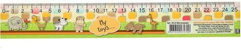 <b>ТПК Пчелка</b> Линейка-закладка Мои игрушки 25 см — купить в ...