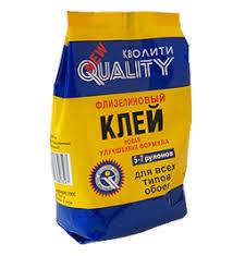 Купить <b>клей</b> для <b>обоев quality</b> флизелин 200 г; 30, <b>quality</b> в ...